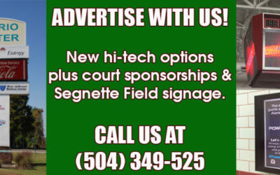 Sponsorships Available at the Alario Center & Segnette Field