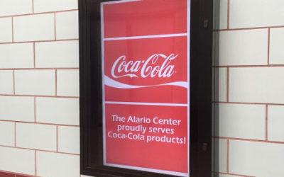 The Alario Center Begins Serving Coca-Cola Products