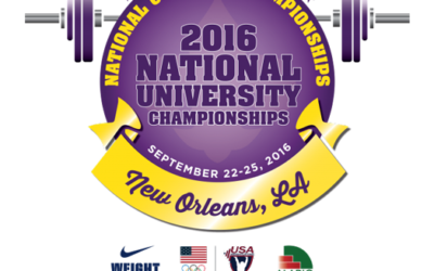 USA Weightlifting National University and Under 25 Championships Moved to Alario Center